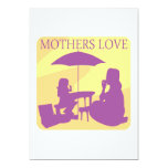 Mothers Love 5x7 Paper Invitation Card