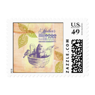 Mothers Love Birds Stamps