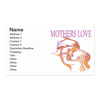 Mothers Love Business Card