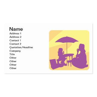 Mothers Love Double-Sided Standard Business Cards (Pack Of 100)