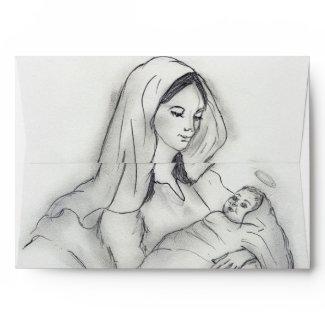 Mother's Love envelope