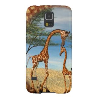 Mother's Love Giraffe Case For Galaxy S5