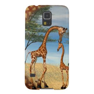 Mother's Love Giraffe Galaxy S5 Case