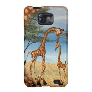 Mother's Love Giraffe Galaxy SII Covers