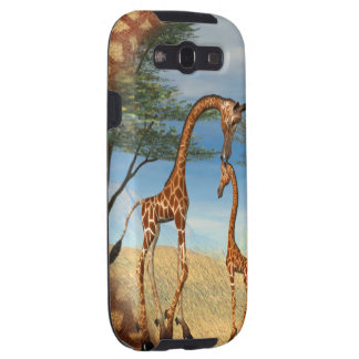 Mother's Love Giraffe Galaxy SIII Cover