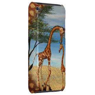 Mother's Love Giraffe iPod Case-Mate Cases