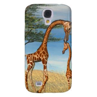 Mother's Love Giraffe Samsung Galaxy S4 Covers