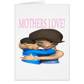 Mothers Love Greeting Cards
