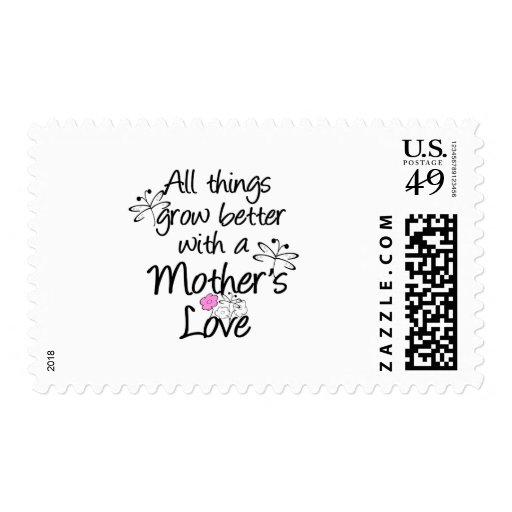 Mother's Love Grows Postage Stamp
