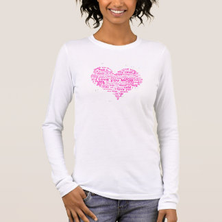 Mothers Love IN heart Shirt
