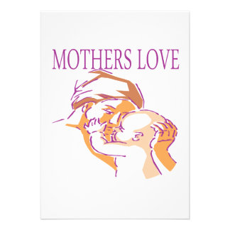 Mothers Love Invitations
