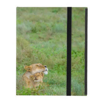 Mother's Love Lioness & Baby iPad Case