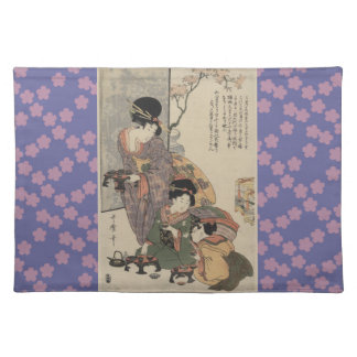 Mother's love placemat cloth placemat