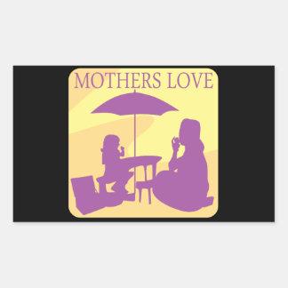 Mothers Love Rectangular Sticker