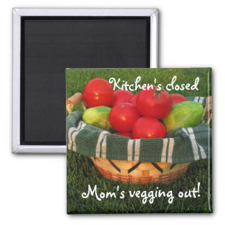 Mother's Magnet--Mom Kitchen Magnet, Mother's Day 2 Inch Square Magnet