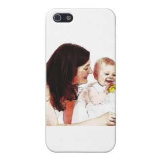 Mothers Make Good Parents, Too! iPhone SE/5/5s Cover