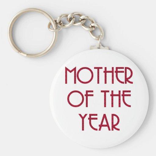 Mothers & Moms (1-3) Basic Round Button Keychain