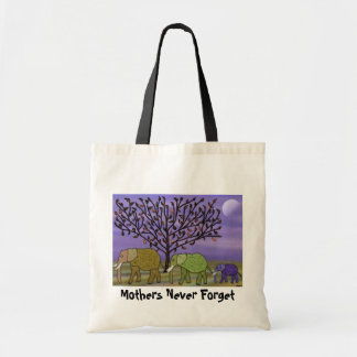 Mothers Never Forget Budget Tote