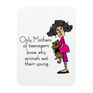 Mothers of Teenagers Rectangular Photo Magnet