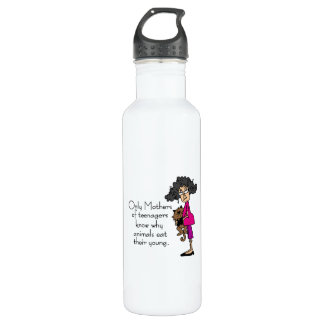 Mothers of Teenagers Water Bottle