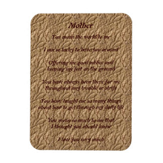 Mothers Poem Magnet