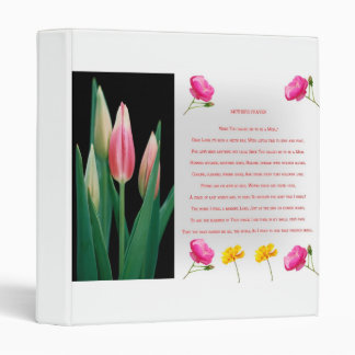 Mothers prayer Customizable Binder