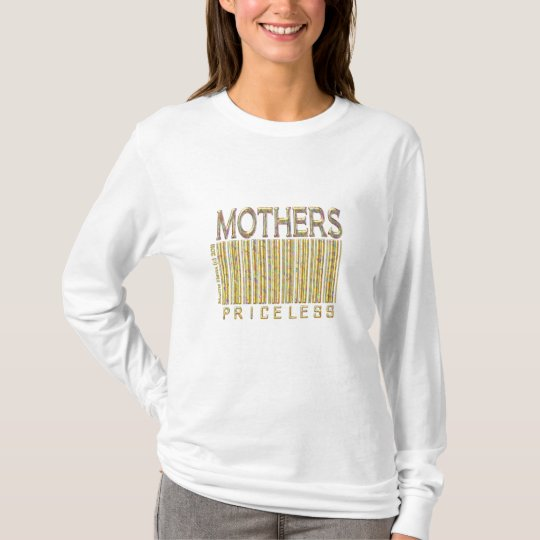 'Mothers: Priceless' Barcode Shirt