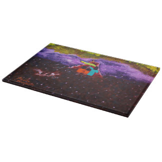 """""""Mother's Protection"""" Glass Cutting Board"""