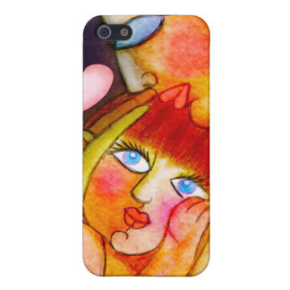 Mother's pure love - mom and child design cover for iPhone SE/5/5s