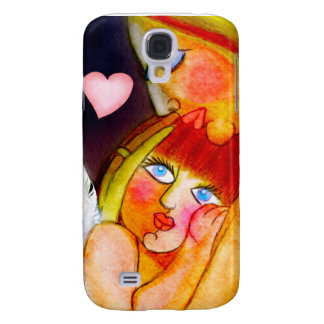 Mother's pure love - mom and child design galaxy s4 covers