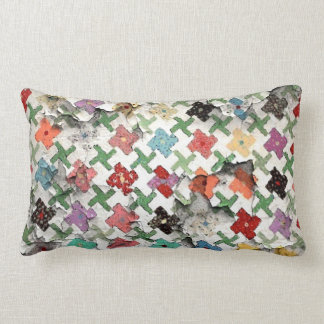 Mother's Quilt Lumbar Pillow