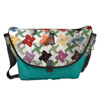 Mother's Quilt Rickshaw Messanger Bag