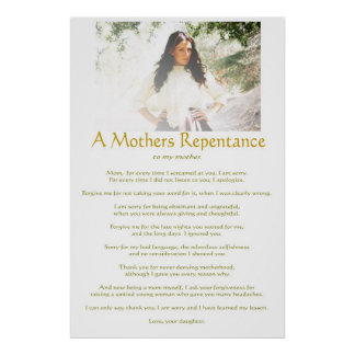 Mothers Repentance Print