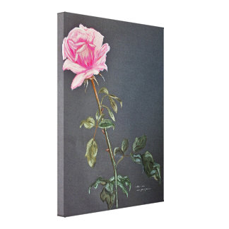 mothers rose gallery wrap canvas