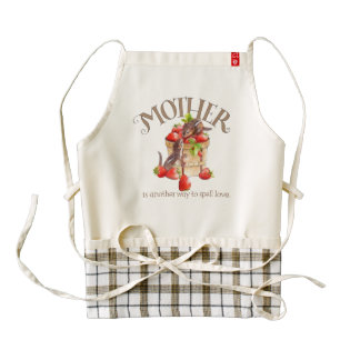Mother's Strawberry Apron