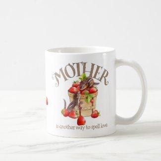Mother's Strawberry Mug