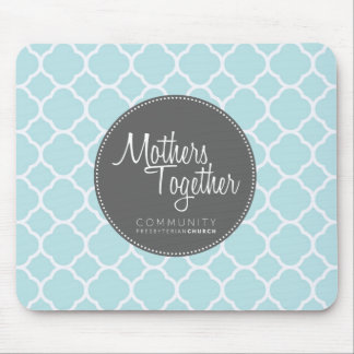 Mothers Together Grey Logo Mouse Pad