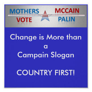 Mothers Vote Poster