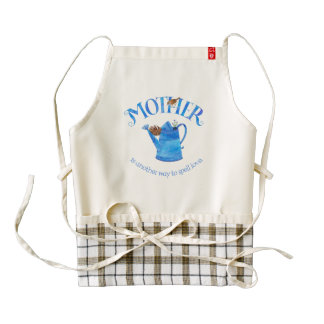 Mother's Watering Can Apron