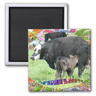 MOTHER'S WORK 2 INCH SQUARE MAGNET