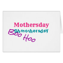 Mothersday, 'anti-holiday' sentiment, blank