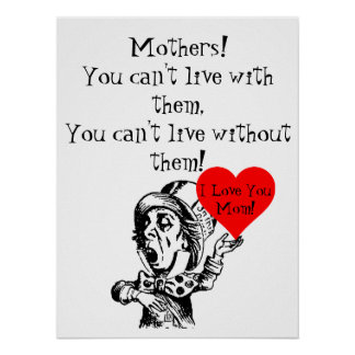 """MOTHERSDAY LOVE POSTER 18 x 24"""""""
