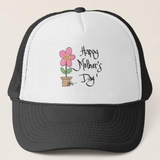 mothersdayflower.png trucker hat