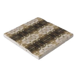 MothersHeart Custom Travertine Stone Trivet