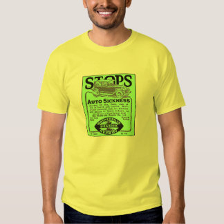 Mothersill's Seasick Remedy vintage ad T-Shirt