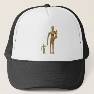 MotherTwoChildren020910 Trucker Hat
