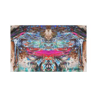 mothman stretched canvas prints