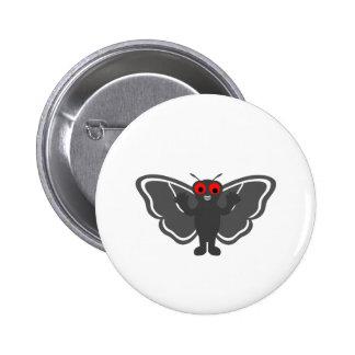 Mothman lindo pin redondo 5 cm
