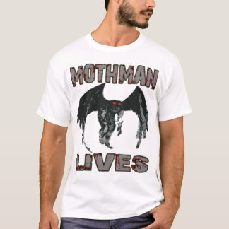 MOTHMAN LIVES SHIRT