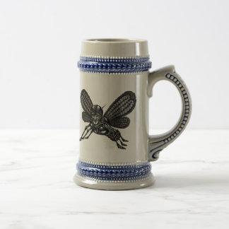 Mothman para el diseño divertido de la taza de la